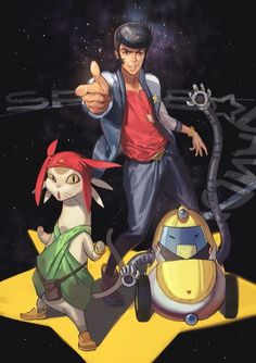 Space Dandy; I still don't like that cat thing