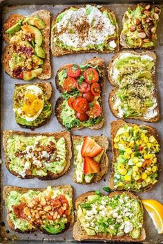 So addicted to avocado right now! 11 Easy Ways to Fancy Up Your Avocado Toast #healthy #avocado #recipes