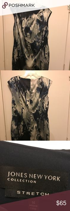 Jones New York Dress Beautiful silky dress, never worn. New with tags Jones New York Dresses Midi