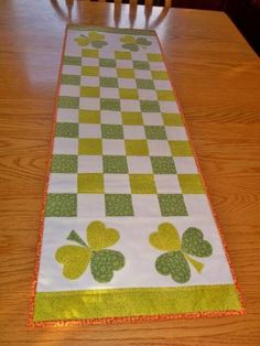 Simply Beautiful Irish Table Runner by youresewloved for $46.00