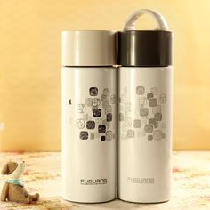 Specials packages-mail stainless steel vacuum flask-rich genuine men and ladies fashion cute couple water cups