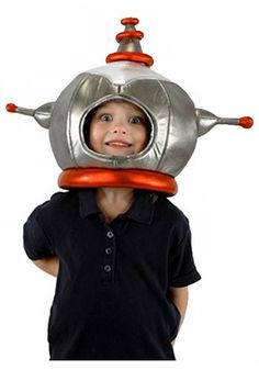 Now you can fly to the moon and back. Hunt for aliens, or explore the wonders of the universe with the help of this trusty Robot Hat. Spaceship and oxygen tanks not included.