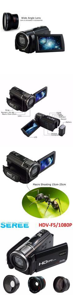 "Seree 3.0 "" Night Vision IR Full HD 1080p Digital Video Camera Camescope Remote Wide Angel Lens Mini Camcorder HDMI DV DVR filma"