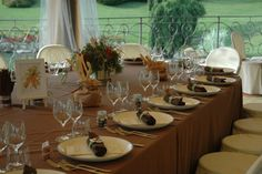 Country Chic Wedding - Mise en place