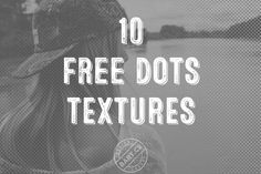 Need to give a classic pop art and vintage comic look on your design? Here have a try on 10 free halftone dots texture