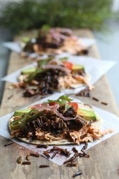 """Smoky Wild Rice & Mushroom Street Tacos, a recipe created by Veronica Callaghan, was entered in our """"Get Wild w/ Wild Rice"""" contest! Contest closes July 5 so get your dish(es) in now at website link. #wildricecontest #rusticfoods Minnesota Wild Rice, Cooking Contest, Street Tacos, Entree Recipes, Website Link, Veronica, Entrees, Stuffed Mushrooms, Beef"""