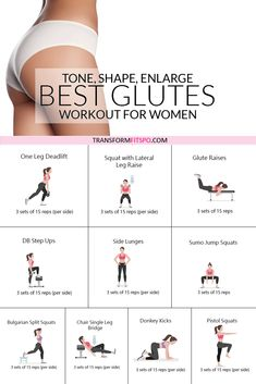 How to Get a Bigger Bum – Workout to Tone, Round and Enlarge Your Glutes - Transform Fitspo - Fitness Fitness Workouts, Fitness Workout For Women, Toning Workouts, At Home Workouts, Fitness Tips, Fitness Motivation, Glute Exercises, Fitness Men, Fitness Journal
