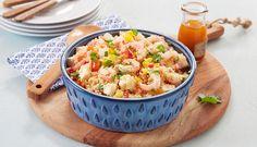 Couscoussalat med reker og fetaost - Godfisk