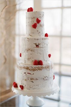 tall and rustic with berries
