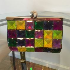 Kate Spade Jeweled Clutch Such a great clutch!! Good condition - it's a little heavy because of the jewels but I think that's because it's such good quality!  kate spade Bags