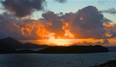 The entire sky seems on fire with this February sunrise (taken from Great Expecations) overlooking Rendezvous Bay's Ditleff Point