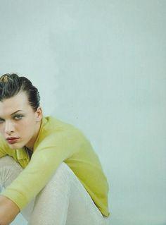 Milla Jovovich, 90's shot by Mark Borthwick