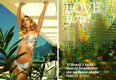 """CITIZEN CHIC: Kate Moss for Vogue Brazil """"Love You"""" Part I"""
