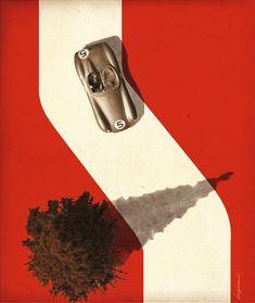 Really nice poster by illustrator and graphic designer Jonas Bergstrand.