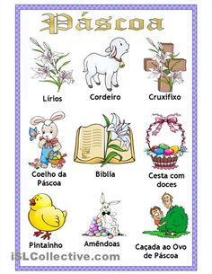 Vocabulário da Páscoa (Portuguese Easter Vocabulary)