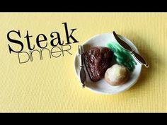 Miniature steak dinner tutorial