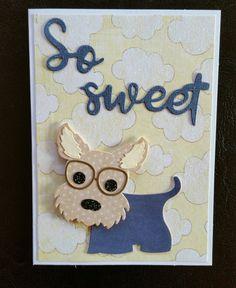 Sweet little Scotty card by Terri Panone