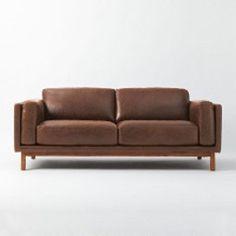 Dekalb Leather Sofa - West Elm $3399