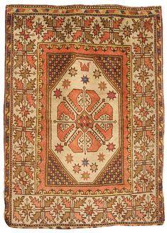 Bergama rug, West Turkey, 19th century