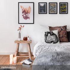 Unser Zuhause, besonders unser Schlafzimmer ist ein Ort an dem wir uns geborgen und wohl fühlen möchten. Einfach dieses Heimische Gefühl spüren. Genau aus…