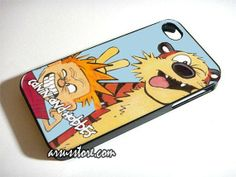 Calvin and Hobbes Wallpaper iPhone Case 5 5S 5C 4 4S