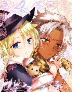 Tags: Anime, Fanart, Pixiv, MAGI: The Labyrinth of Magic, Mikazuki Tenma