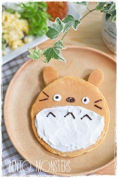 Totoro pancake