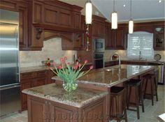 Typhoon Bordeaux Granite Kitchen Top