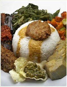 Nasi Padang. One of the most delicious food in Indonesia.