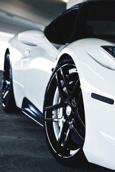 Ferrari 458 Italia - Black and white #CarFlash