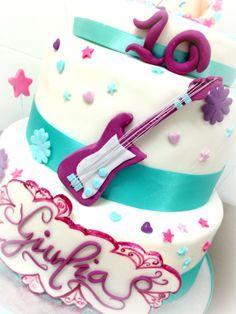 #Violetta #Cake  by www.torteamorefantasia.com