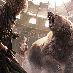 In The Bear Pit by Magali Villeneuve