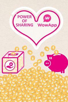 Schließen Sie sich mir auf WowApp an, um zu verdienen, zu teilen und einen Unterschied zu machen!