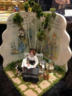 have peter Love this! Beatrix Potter and her creations. Chicago International Show, April 20th, 2013 ~ Pic 1 of 3