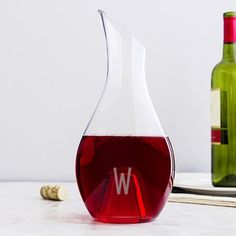 Personalized Aerating Wine Decanter - Free Shipping On Orders Over $45 - Overstock.com - 17536406 - Mobile