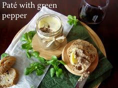 TynaTyna: Paté with green pepper Stuffed Green Peppers, Camembert Cheese, Mexican, Homemade, Ethnic Recipes, Food, Hoods, Diy Crafts, Meals