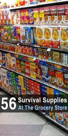 Survival food isn't just MRE's, canned bacon, space ice cream and the like. It's any type of food that lasts a long time without refrigeration. Prepper Food, Survival Food, Outdoor Survival, Survival Prepping, Emergency Preparedness, Survival Skills, Emergency Kits, Emergency Binder, Survival Hacks