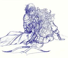 Stay with me...! by AugustRaes on deviantART  Gosh... Right in the otp feels...