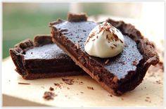 The best chocolate tart ever.