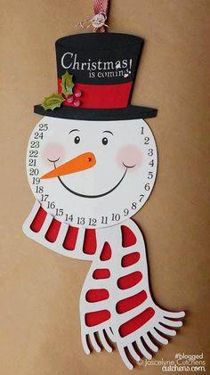 Kreatív gyűjteményem: Ünnepváró hóember