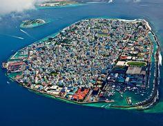 Malé de hoofdstad van de Malediven