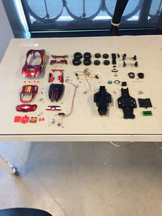 Toy Car Layout - Design Engineering
