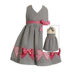 little girls dress Gingham   Big Fashion Show little girls dresses