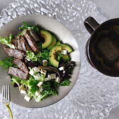 맛있다 💚 ᕦ(ò_óˇ)ᕤ #오빠난잘지내고있어 #2 Steak, Beef, Food, Meat, Essen, Steaks, Meals, Yemek, Eten