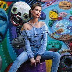 Closet Lit: Blusa Ciganinha e Skinny Jeans! #closetlit