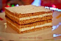 Patiseria Franceza Diana Oradea, produse, prajituri, comanda, semipreparate, patiserie, tarte din foietaj, cofetarie, aperitive, prajitura, casa, tort, nunta, aniversare, aluat, foietaj, frantuzesc, post, Oradea Vanilla Cake, Tiramisu, Diana, Ethnic Recipes, Desserts, Simple Lines, Tailgate Desserts, Deserts, Postres