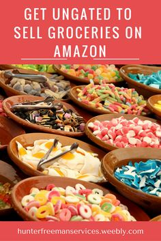 Have you been trying to get approved in the Grocery category on Amazon?  Selling Gourmet Food Wholesale, in Bundles you sourced via Retail Arbitrage, or your own Private Label is a lucrative and rewarding experience.    Let us show you how to get ungated to sell in the restricted Grocery & Gourmet Food category on Amazon.com  #entrepreneur