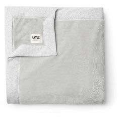 Duffield Throw ($98) ❤ liked on Polyvore featuring home, bed & bath, bedding, blankets, white, ugg australia, white throw blanket, white blanket, white throw and white bedding