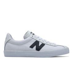 Tempus Men's Court Classics Shoes - White/Navy (ML22BN)