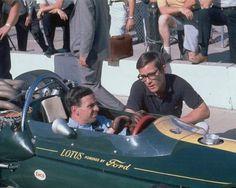 Jim Clark & Masten Gregory - 500 miles d'Indianapolis 1964 - UK Racing History.